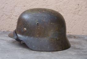 Luftwaffe Korai 1935M �szi �s t�li �lca fest�s� n�met sisak!